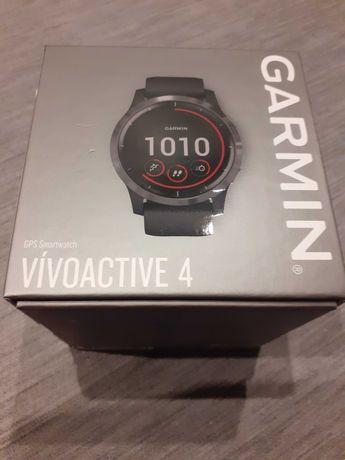 Smartwatch Garmin Vivoactive 4 czarny