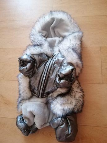 Теплая курточка для собак