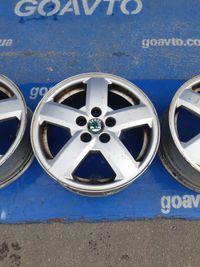 GOAUTO комплект дисков Skoda Volkswagen 5/100 r15 et38 6j dia57.1 в ор