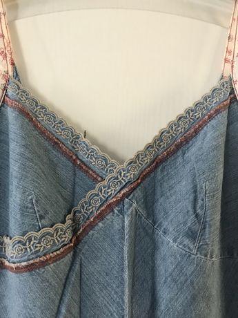 Jeansowa sukienka Tommy Hilfiger Denim S