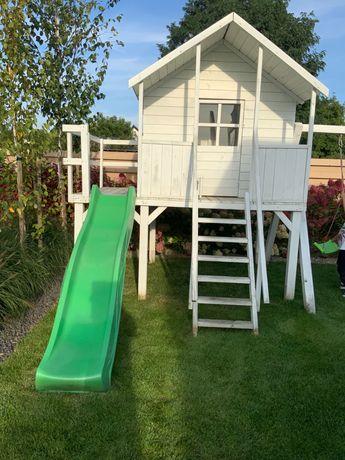 Domek drewniany dla dzieci duży