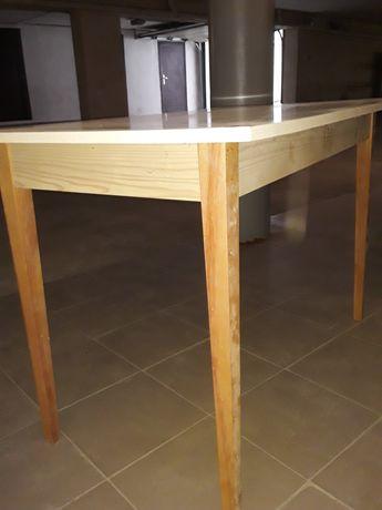 Стіл кухонний білий