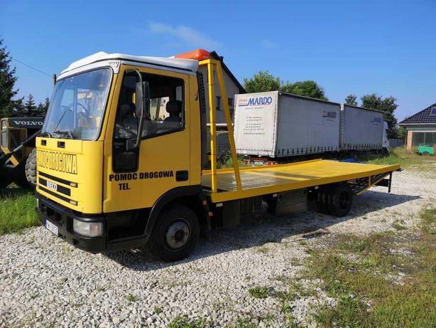 Pomoc Drogowa IVECO EuroCargo Specjalny Wyciągarka 7,5DMC ZAMIANA