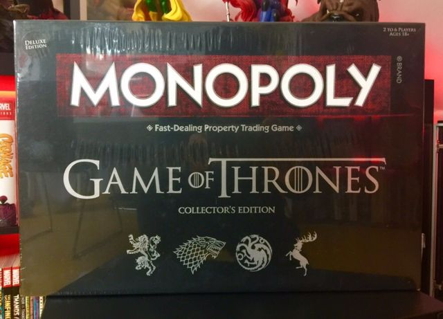 Risk e Monopoly Game of Thrones collectors edition