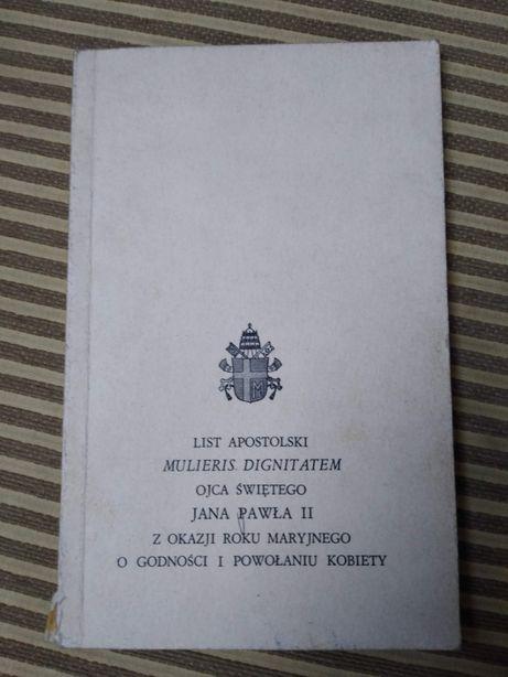 List Apostolski Mulieris Dignitatem