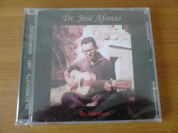 CD José Afonso Baladas de Coimbra NOVO Fechado no plastificado origem