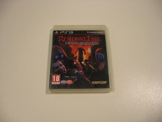 Resident Evil Operation Raccon City PL - GRA Ps3 - Opole 1745