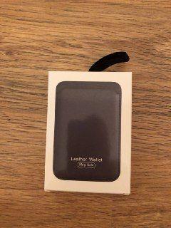 Кожаный чехол-бумажник MagSafe