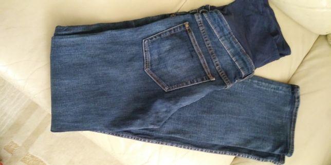 Spodnie jeansy ciazowe hm 38