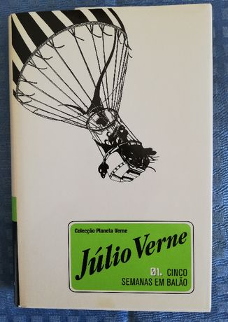 Júlio Verne - Cinco Semanas em Balão