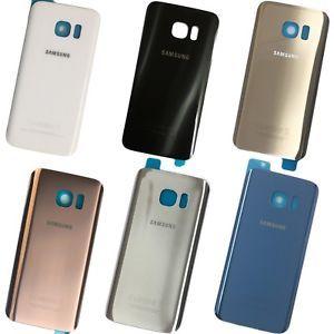 Tampa traseira em vidro para Samsung Galaxy S7 e S7 Edge