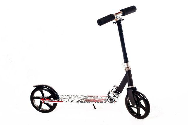 Duża Hulajnoga scooter designe duże koła 20cm na prezent urodzinowy