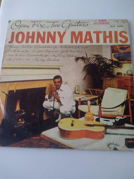 Disco vinil Johnny Mathis, Open Fire, Two Guitars