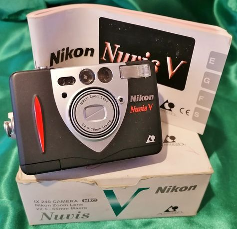 """nikon """"nuvis v"""" fotográfica a rolo controlo digital"""
