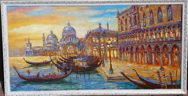 "Картина маслом ""Venice"". Возможен торг!"