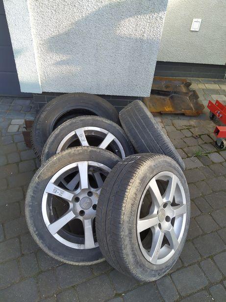 Koła - opony letnie Bridgestone 165/65 R 15 alufelgi Renault, Skoda VW