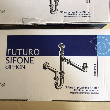 Sifão lava louça Fiscitaliana Futuro 1 - Novo