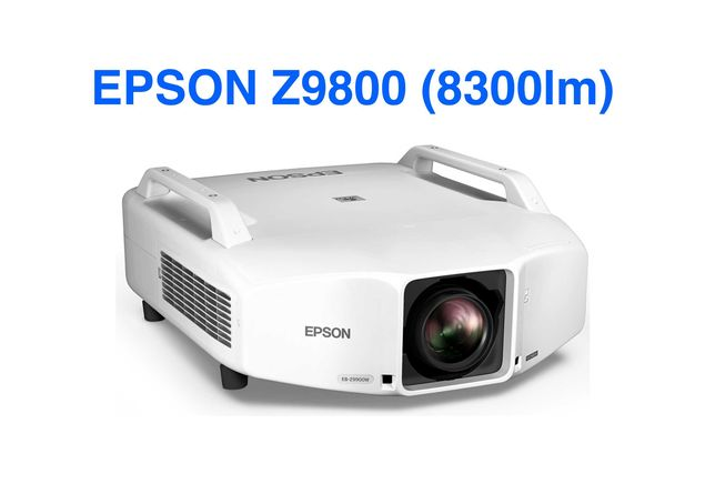 Проектор Epson EB-Z9800W яркость 8300lm запечатанный розница 10к+
