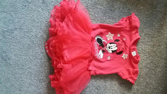 Sukienka body Myszka Miki rozmiar 80