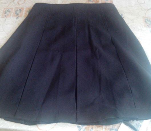 юбка школьная черная