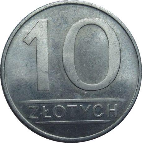 10 złotych - okres PRL-lu