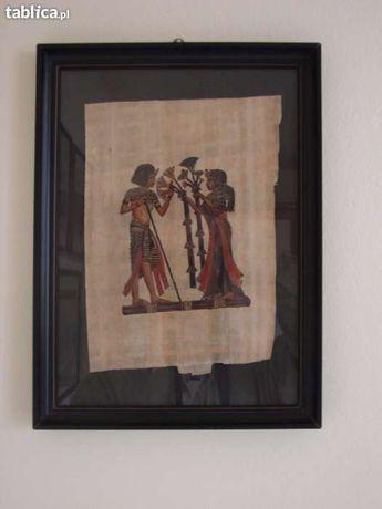 Papirus egipski- obraz