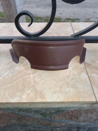 Продам снегодержатель полумесяц ( подкова ) коричневый мат RAL 8017