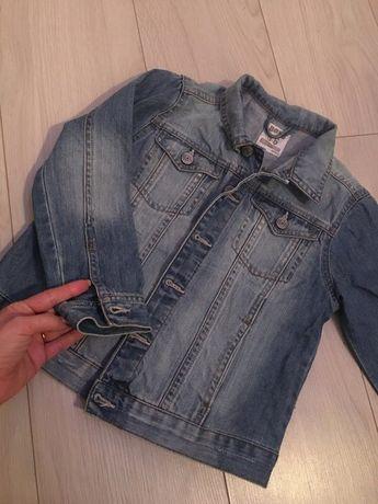 jeansowa kurtka chlopiece 110