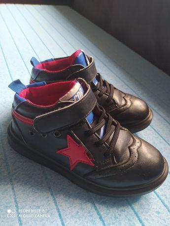 Красивые ботинки на мальчика 34р