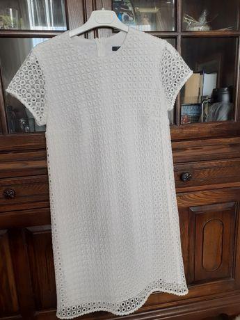 Biała sukienka Mohito rozm 34