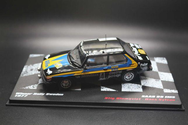 SAAB 99 EMS Winner Rally Sweden 1977