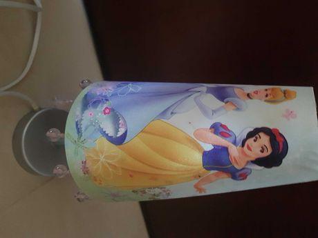 Lampka nocna Księżniczki Disneya