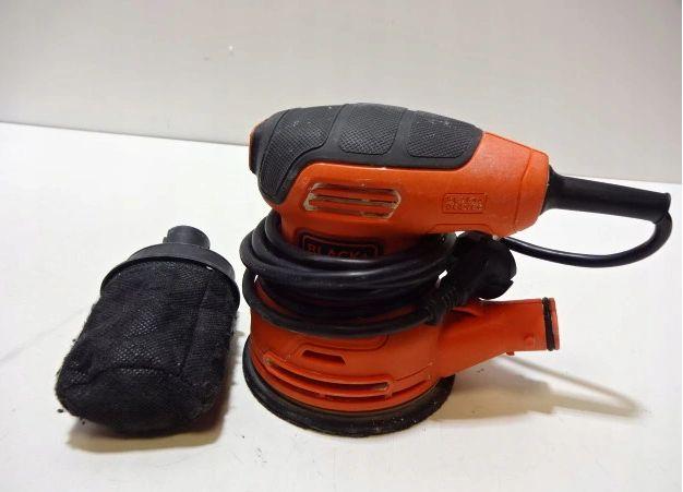 Black+Decker Szlifierka mimośrodowa 230W 125 mm