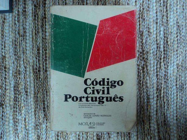 Livro Código Civil português