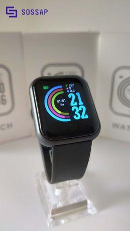 Relógio Inteligente Y68 - Black Model