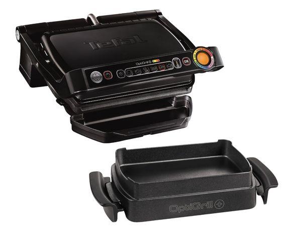 Grill elektryczny TEFAL OptiGrill + Snacking&Baking czarny GC7148