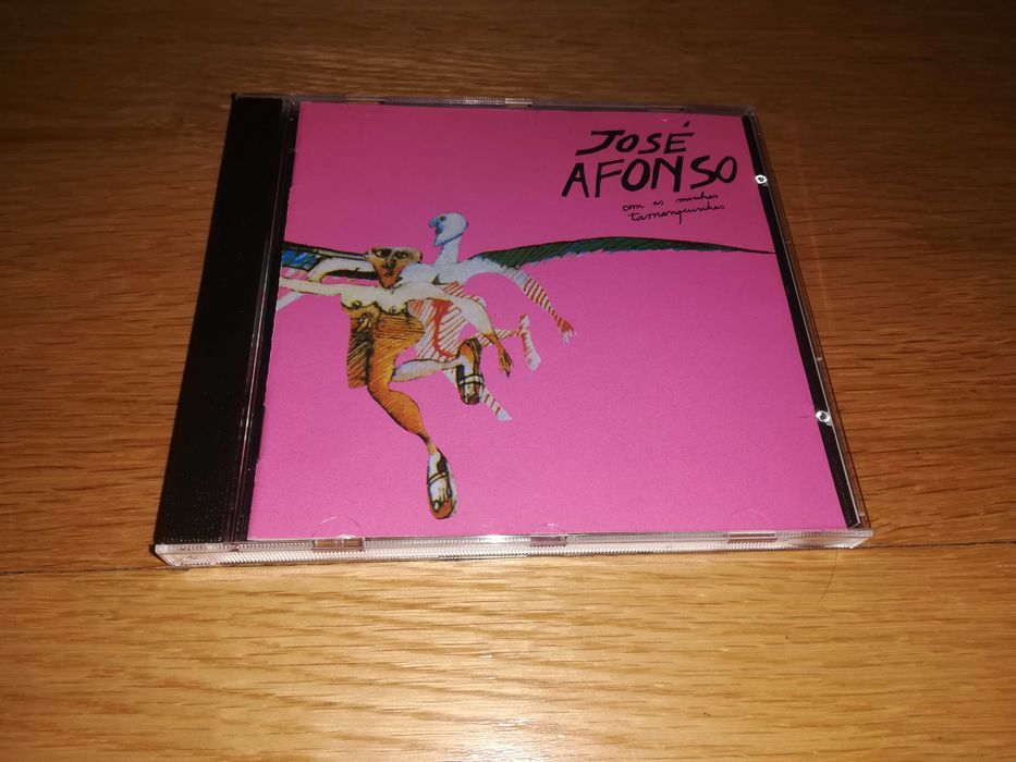 """CD José Afonso """"Com as minhas tamanquinhas"""" Peso Da Régua E Godim - imagem 1"""