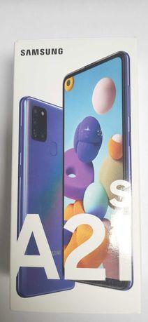 Samsung A21s 32GB Niebieski (Nowy, nierozpakowany) + Folia 3mk