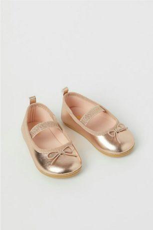 Балетки туфлі балерини H&M розмір 20/21 22 23  25 28