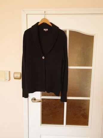Sweterek  kaszmir 100% markowy duży czarny