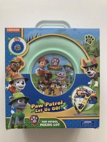 Psi patrol baza parking autka figurki pojazdy zabawki