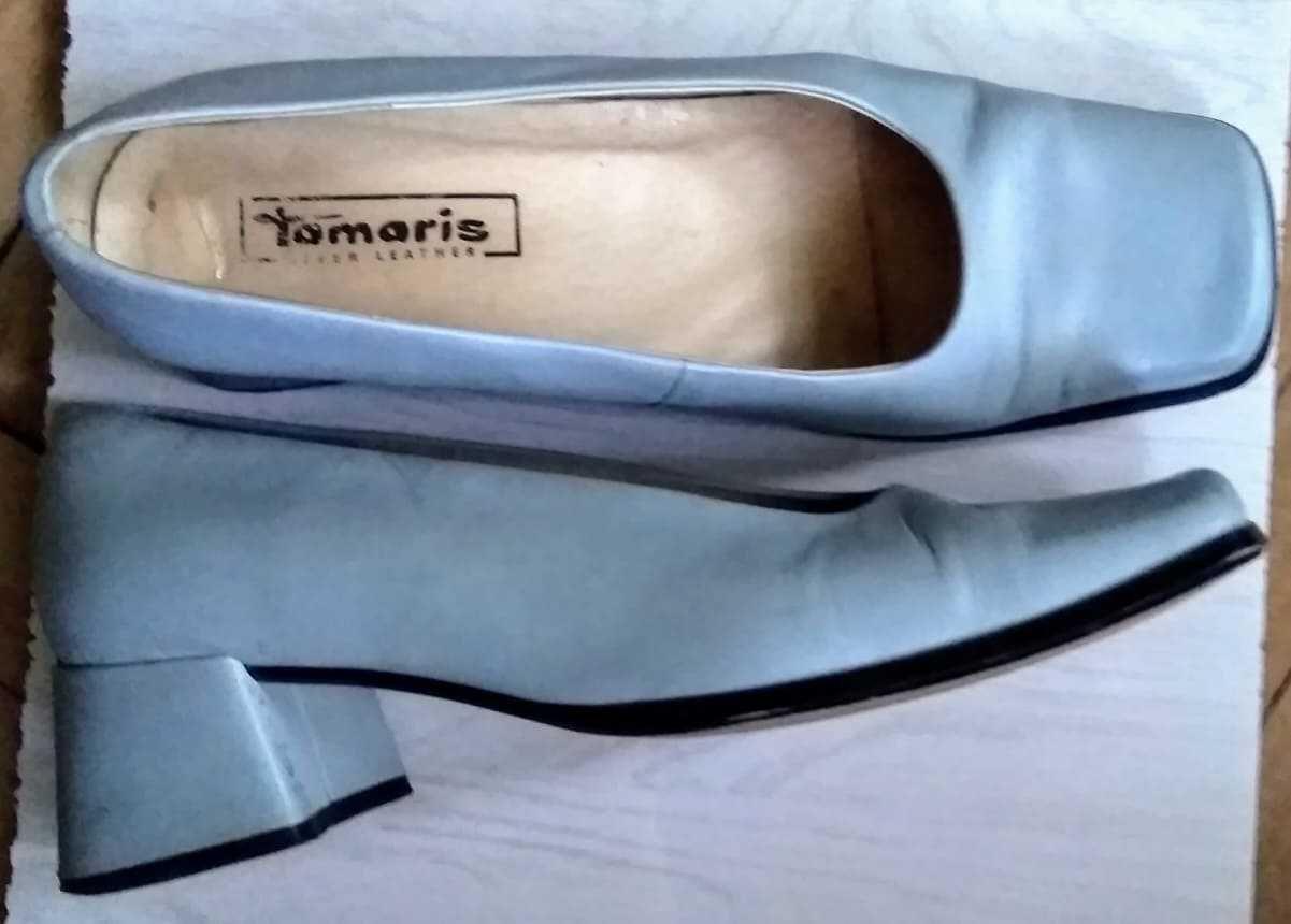 Туфли женские, натуральная кожа, производство Германии, размер 40