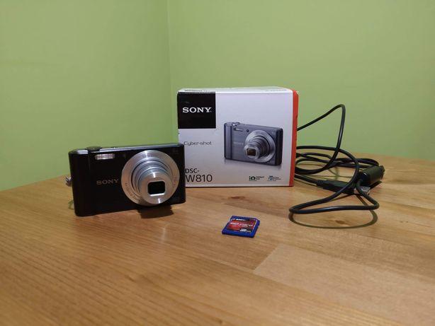Aparat cyfrowy Sony DSC-W810+karta pamięci Gratis