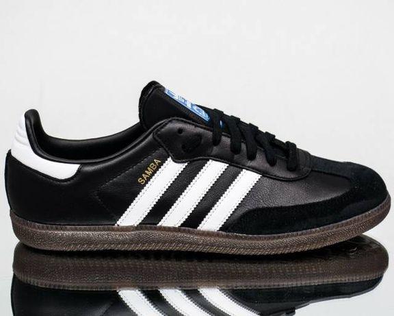 Кроссовки мужскиe Adidas Originals Samba Leather BZ0058 (ОРИГИНАЛ).