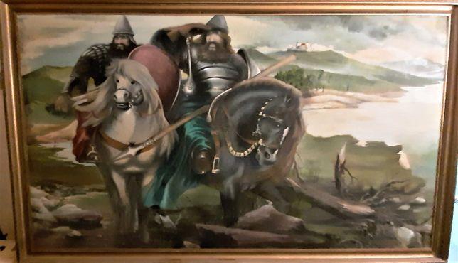 Obraz malowany ręcznie 207 cm x 125 cm