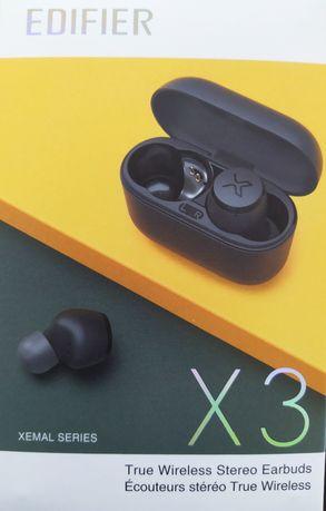 słuchawki bezprzewodowe TWS Edifier X3 IP55  Haylou Xiaomi AirDots