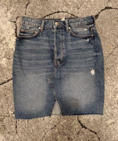 Spódnica dżinsowa marki H&M