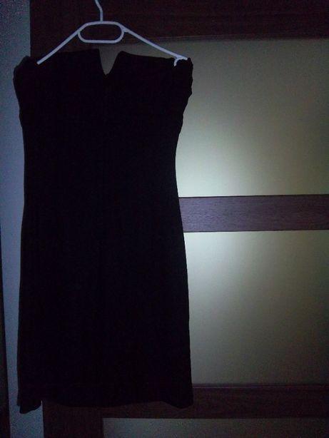 Sukienka mała czarna Waggon r.38