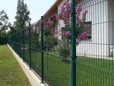 Panele ogrodzeniowe komplet fi 4 h 1500mm + podmurówka Pułtusk