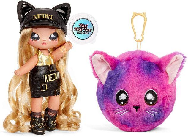 Набор с куклой и мягкой игрушкой Кошка Саша, Na! Na! Na! Surprise Sash